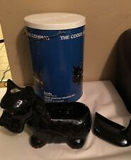 Scottie Cookie Jar Scotty  Model DCJ-12  With Original Case/box