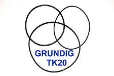 Set Cinghia Grundig tk20 macchina NASTRO EXTRA STRONG fabrickfrisch NUOVO tk-20