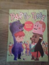 """Vintage Playmore """"Party TIme Color Book"""" coloring/activity book"""