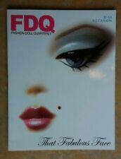 Fashion Doll Quarterly FDQ Doll Collector's Magazines (3)