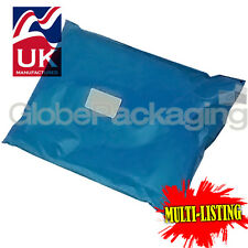 More details for strong metallic blue mailing postal plastic poly bags mailers *all sizes/qty's*