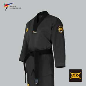 Mooto WT MTX Taekwondo Uniform Korea Dobok TKD Korean Martial Art Dark Gray