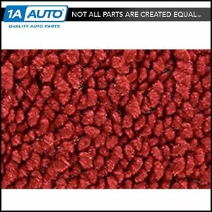 for 60-65 Ford Falcon 4 Door Wagon Auto 80/20 Loop 02-Red Complete Carpet Molded