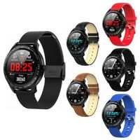L9 ECG PPG Blood Pressure Oxygen Heart Rate Monitor Waterproof IP68 Smart Watch