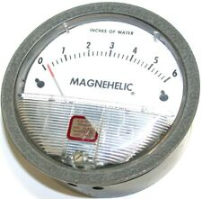 New listing Dwyer Magnehelic 0 to 6 Differential Pressure Gage 2006C