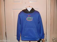 New with Tags Florida Gators Kids Sizes {4-7} Nike Hooded Pullover Therma-Fit