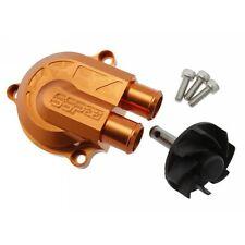 Pompa acqua maggiorata +40% STAGE6 CNC Racing Type arancio per Minarelli