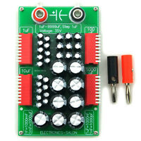 1uF to 9999uF Step-1uF Four Decade Programmable Capacitor Board.