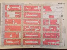 Original 1934 Yorkville German NYC New York City 12 x 17 Manhattan Map