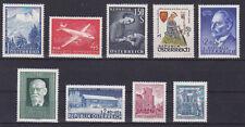 Österreich Jahrgang  1958 postfrisch** 9 Werte