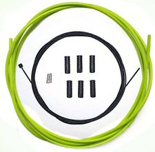 PTFE Coated inner Gear Cable Lined Green Outer Sealed Ferrules MTB Bike 2M