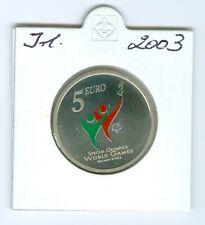 Ireland 5 Euro Special Olympics 2003 Uncirculated