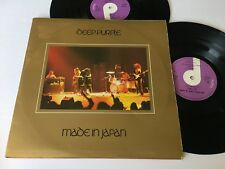 Deep Purple Made in Japan Import UK Rock Record 2 lp original vinyl album