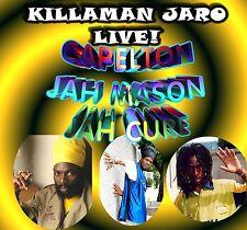 Jaro Live! Jah Cure, Jah Mason, Capelton DJ/Toasting Roots Rock ragga Sound