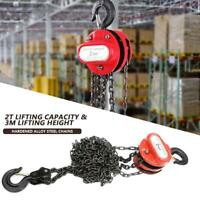 1/2 Ton Chain Puller Block Fall Chain Hoist Hand Tools Lifting Chain for Garage