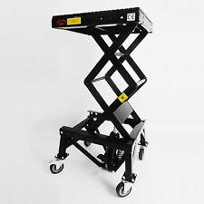 D Pro Tools Professional Hydraulic Motorbike Lift Scissor 300lb With Wheels