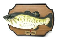 Vintage 1999 Original Big Mouth Billy Bass Singing Fish NOT WORKING FOR PARTS!