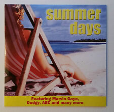 Summer Days - 7 Track Promo CD - VGC - Tested - Marth Reeves Shanice Dodgy ABC