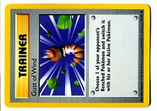 POKEMON BASE English SHADOWLESS CARD N°  93/102 GUST OF WIND