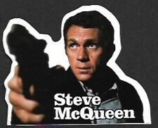 Steve McQueen Sticker, 1990s Vintage Stock, New