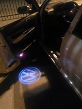 2x LED Door Laser Projector Light For  VW Golf 4,MK4,Touran,Caddy,Bora,Beatles