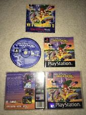 Racing Sony PlayStation Disney Video Games with Manual