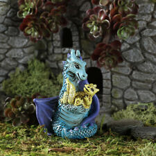 Miniature Dollhouse Fairy Garden - Mom And Baby Dragon - Accessories