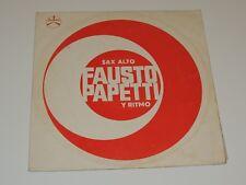 SAX ALTO FAUSTO PAPETTI Y RITMO Lp RECORD DURIUM MSM 77054 LATIN JAZZ RARE
