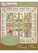 Anita Goodesign Special Edition Fantasy Birds Embroidery Design Cd New 03Agse