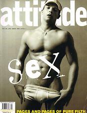ATTITUDE #97 5/2002 RAM SHERGILL Marc Jacobs NEIL TENNANT Steven Zeeland