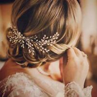 Braut Braut Haar Kamm Hochzeit Headwear Frauen Perle Haarschmuck Weiß