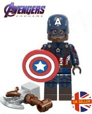 Avengers Captain America Mini Figure Stormbreaker End Game Marvel UK Seller