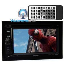 "FARENHEIT TI-623B 2-DIN 6.2"" TV CD MP3 DVD USB AUX SD BLUETOOTH CAR STEREO NEW"