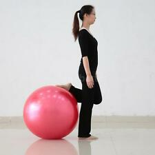 85cm Yoga Core Ball Multi-use Indoor Fitness Training Yoga Ball Workout G5W0