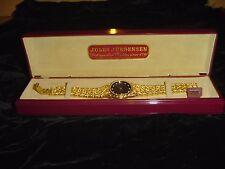 12 Diamond Dial Jules Jurgensen vintage mens watch wristwatch with Case Y481