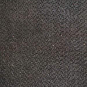 """Felt - Black - Approx. 1/4"""" Thick - 9 3/4"""" x 16"""" - Pack of 1 (E194)"""