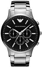 Emporio Armani Gent's Cronografo in Acciaio Inox Sportivo dell'orologio di marca AR2460