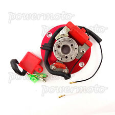 Red Racing Magneto Stator Rotor CDI For Pit Bike 110cc 125cc 140cc Engine Lifan