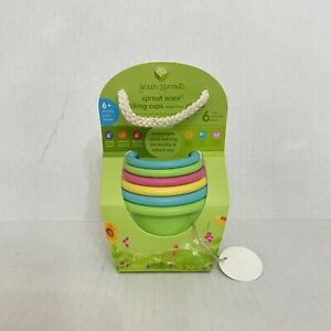 Green Toys Baby Stacking Cups made from plants New