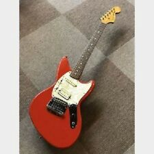 Fender Japan JAGSTANG Red JT-95EX 1996 Kurt Cobain Designed Guitar, a8353