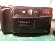Yashica T3 35mm Point & Shoot Film Camera with Carl Zeiss lens and non-OEM case