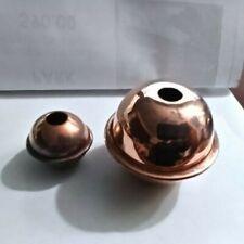 weathervane replacement copper balls 1'' & 2'' for cottage / medium weathervanes