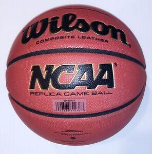 New Wilson NCAA REPLICA Basketball 28.5 Composite Leather WTB0731 Indoor/Outdoor