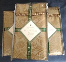 "Waterford Bed Linens ~ ""FOXFORD"" ~ PILLOW SHAM ~ King 20"" x 36"" ~ New in Package"