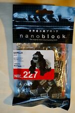 New Japan KAWADA Nanoblock 140 Pieces Micro-Sized Block Gorilla NBC-227