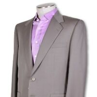 NEW NWT Belvest Two Button Wool Super 100s Unvented Suit Perfect 42 42r