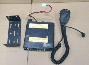 Kenwood TK8180H-K UHF Mobile Radio Transceiver With KMC-35 MIC. & BRACKET Lot A
