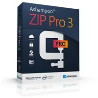 Ashampoo Zip Pro 3- 3er Lizenz - Download Version - Zip, Rar etc. entpacken