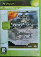 Xbox Conflict Desert Storm Inc Manual