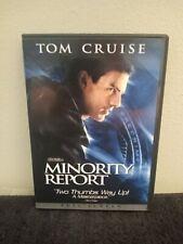 Minority Report (Dvd, 2002, Full Screen, 2 Disc)